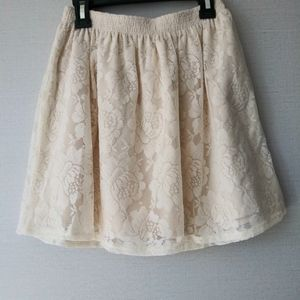 Abercrombie and Fitch Lace Skirt
